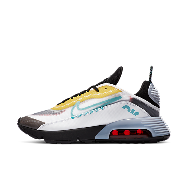 Nike Air Max 2090 White Speed Yellow Bleached Aqua