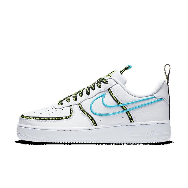 Nike Air Force 1 Low Worldwide White Blue Fury