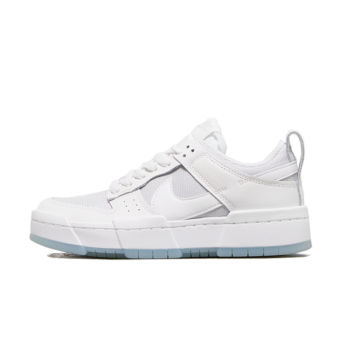 Nike Dunk Low Disrupt 'Photon Dust' zijaanzicht