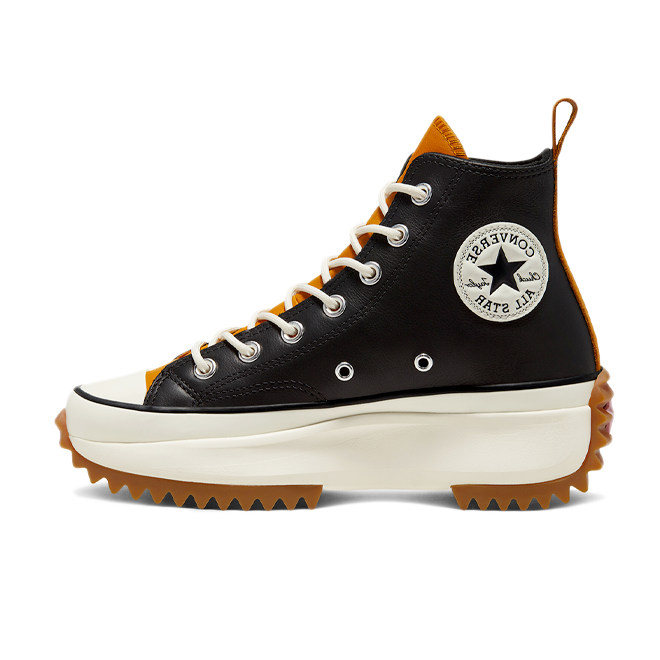 Converse Run Star Hike OX 'Black/Orange' 568649C