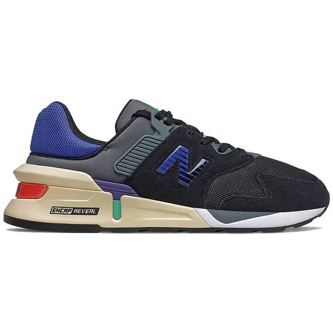 New Balance 997S Black Dazzling Blue
