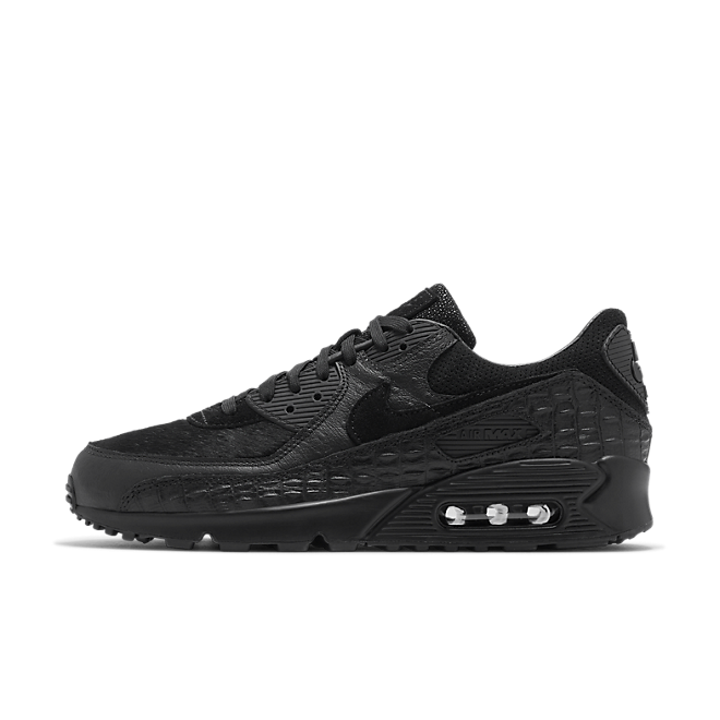 Nike AIr Max 90 Animal Pack 'Black Croc' zijaanzicht