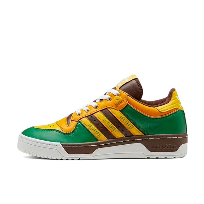 Human Made X adidas Rivalry 'Green/Yellow'