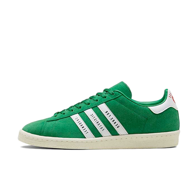 Human Made X adidas Campus 'Green' zijaanzicht
