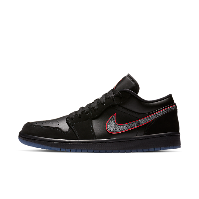 Jordan 1 Low Black Red Orbit