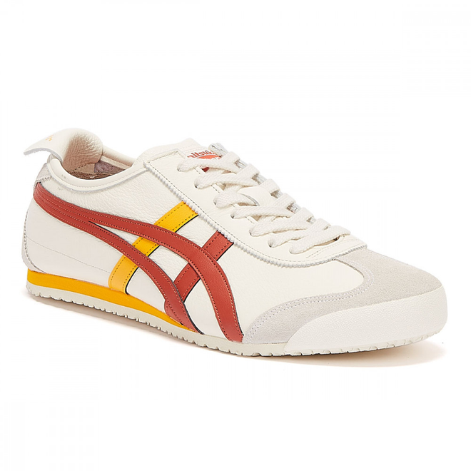 Onitsuka Tiger Mexico 66 White / Brown Trainers