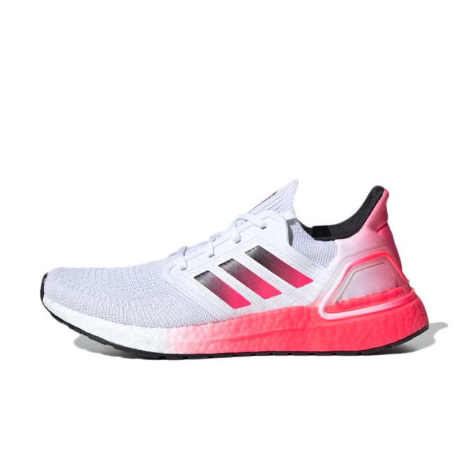 adidas UltraBoost 20 'Pink Gradient' zijaanzicht