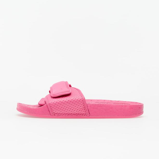 adidas Boost Slide Pharrell Semi Solar Pink