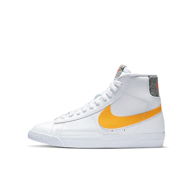 Nike Blazer Mid Grind White University Gold (GS)