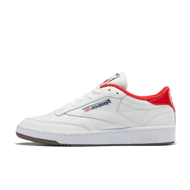 Eric Emanuel X Reebok Club C 'White/Red'