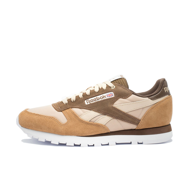 Reebok x Montana Cans Classic Leather 'Brown' zijaanzicht