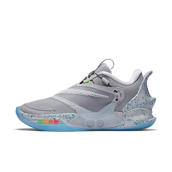 Nike Adapt Bb 2 0 Mag Wolf Grey Eu Charger Cv2441 003 Sneakerjagers