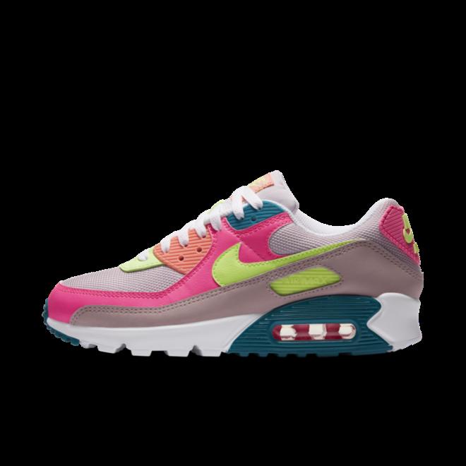 Nike Air Max 90 'Pink Volt' zijaanzicht
