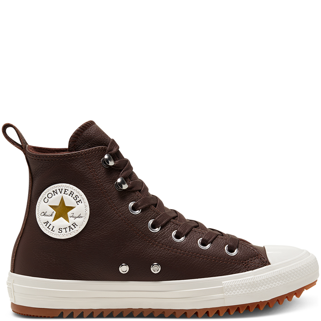 Womens Leather And Warmth Chuck Taylor All Star Hiker High Top