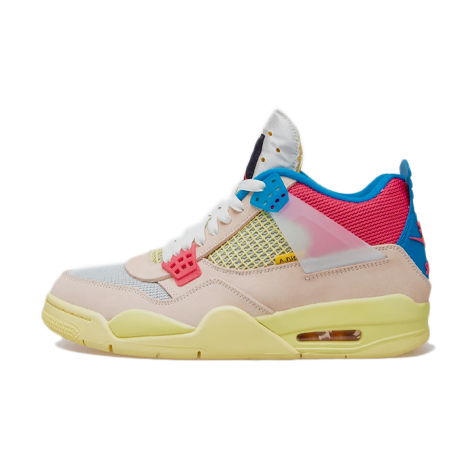 Union X Air Jordan 4 'Guava Ice' zijaanzicht