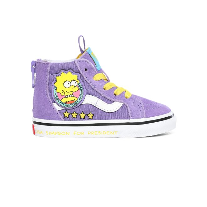 Vans Sk8-hi Zip The Simpsons Lisa 4 Prez