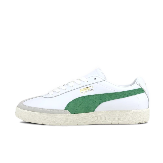 Puma Oslo City 'Green' zijaanzicht