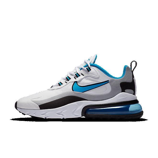 Nike Air Max 270 React White Black University Blue