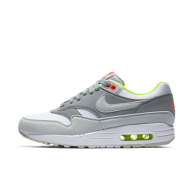 Nike WMNS Air Max 1 'GreyNeon' | 319986 107 | Sneakerjagers