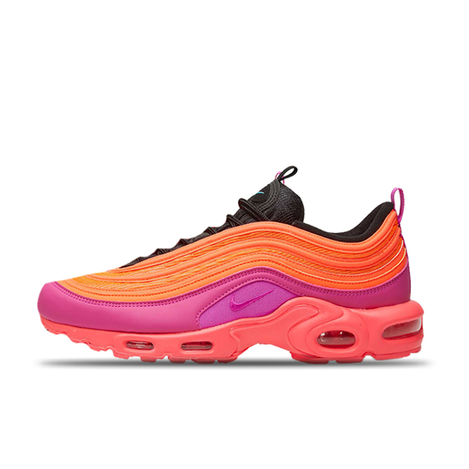 Nike Air Max Plus 97 'Race Pink' zijaanzicht