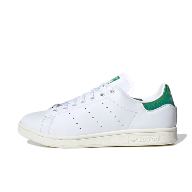 Swarovski X adidas Stan Smith 'White & Green' zijaanzicht