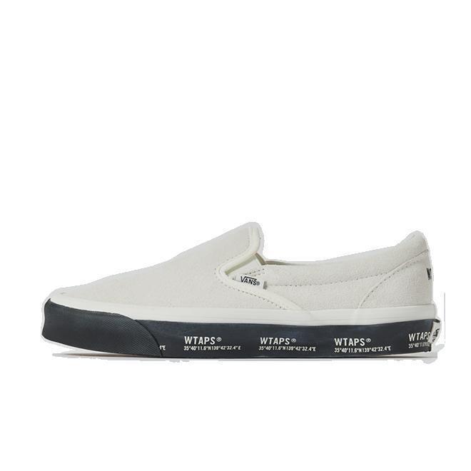 WTAPS X Vans Classic Slip On 'White'