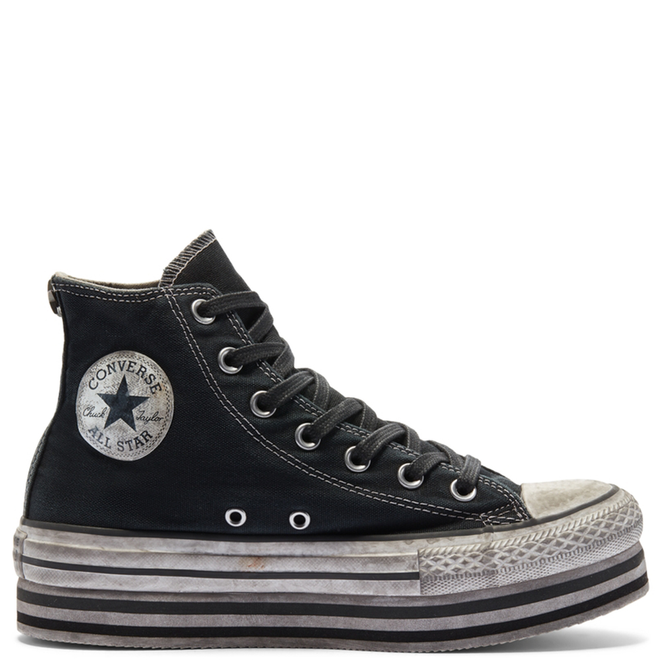 Smoke In Platform Chuck Taylor All Star High Top