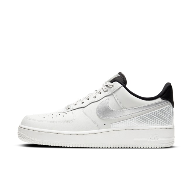 3M X Nike Air Force 1 'White' zijaanzicht