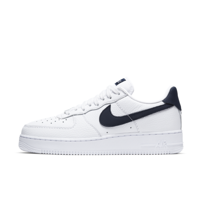 Nike Air Force 1 Craft Low 'White/Obsidian'