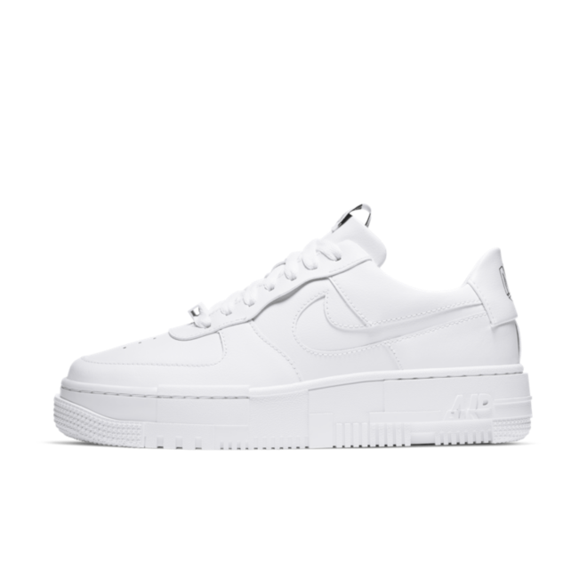 Nike Air Force 1 Pixel 'White' zijaanzicht