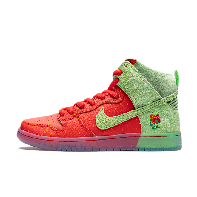 Nike SB Dunk High Pro QS 'Strawberry Cough' CW7093-600