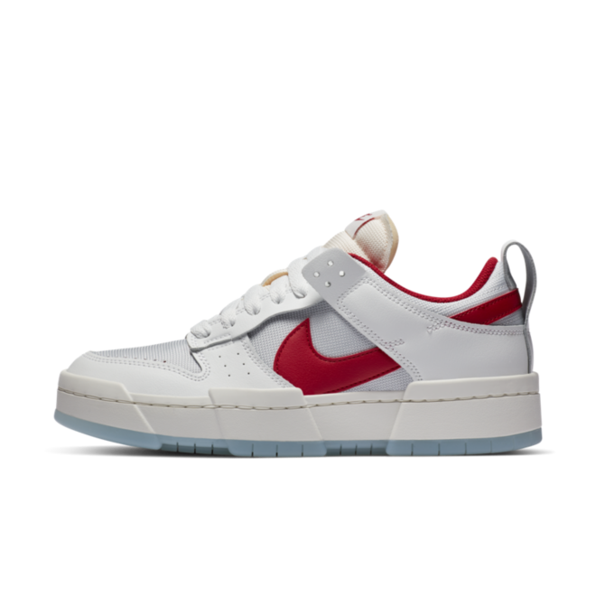 Nike Dunk Low Disrupt 'Gym Red' zijaanzicht