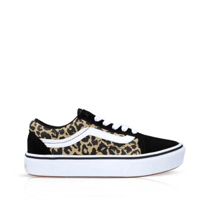 Vans Old Skool ComfyCush Leopard/Black PS VN0A4U1Q3I61