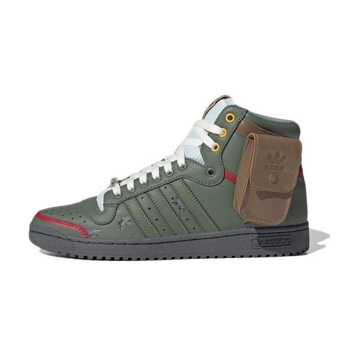 Star Wars X adidas Top Ten Hi 'Boba Fett'