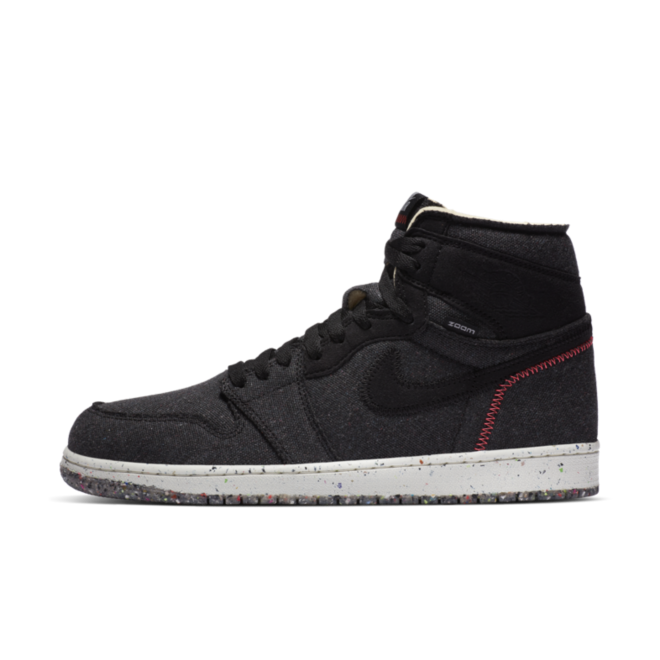 Air Jordan 1 High Zoom Crater 'Black' CW2414-001