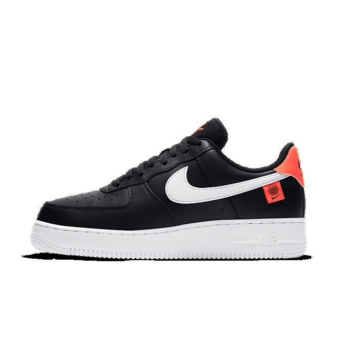 Nike Air Force 1 Low Worldwide Black Flash Crimson White