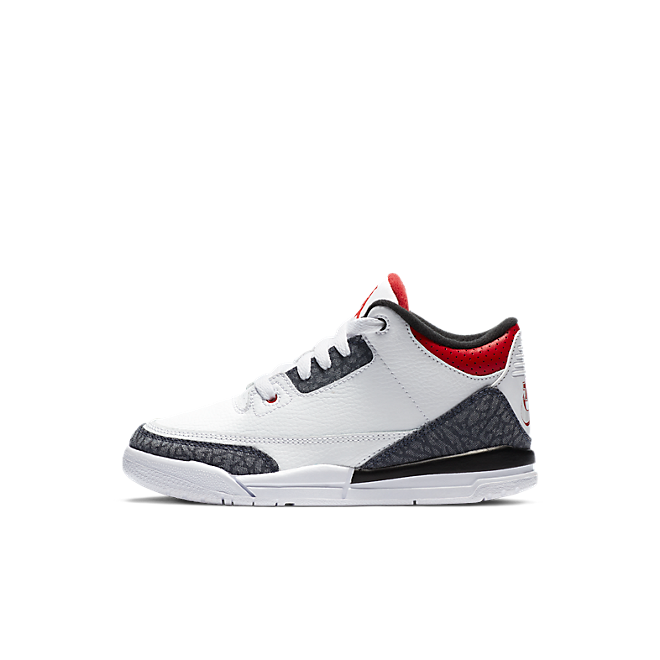 Jordan 3 Retro SE-T Fire Red Denim (PS)