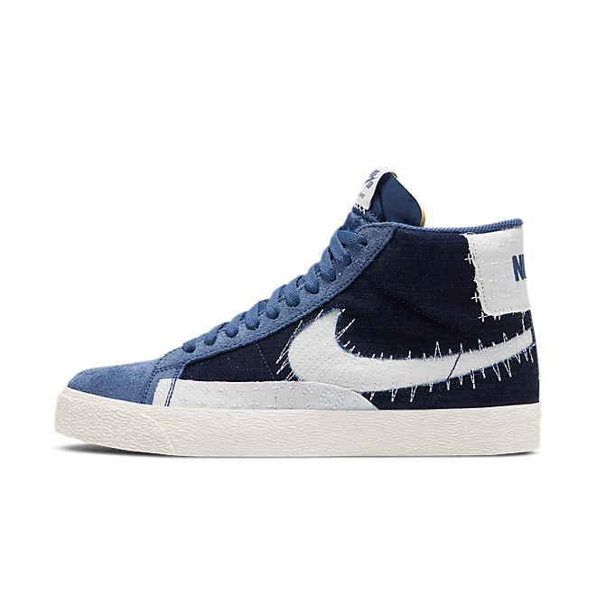 Nike SB Zoom Blazer Mid Sashiko 'Mystic Navy' CT0715-400