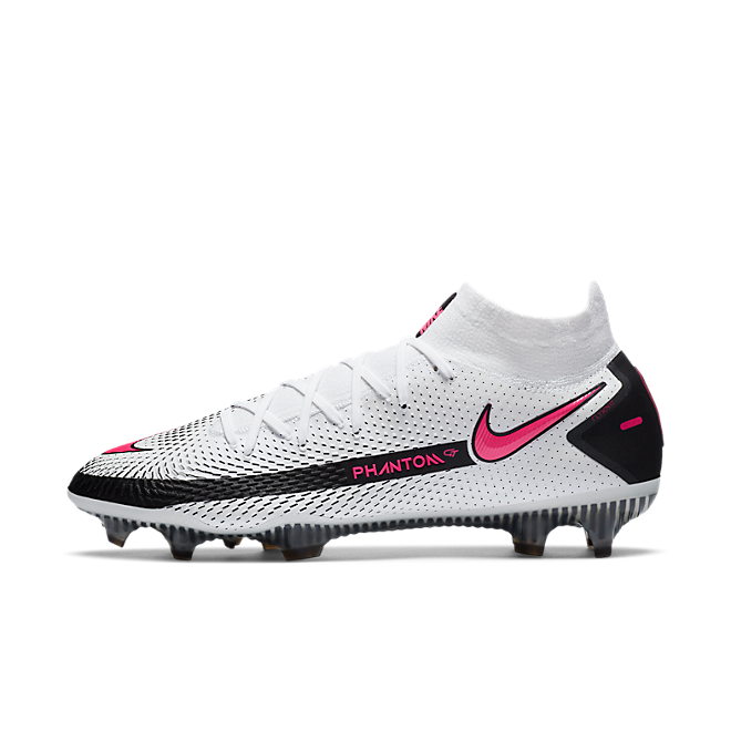 Nike Phantom GT Elite DF FG White Black Pink Blast