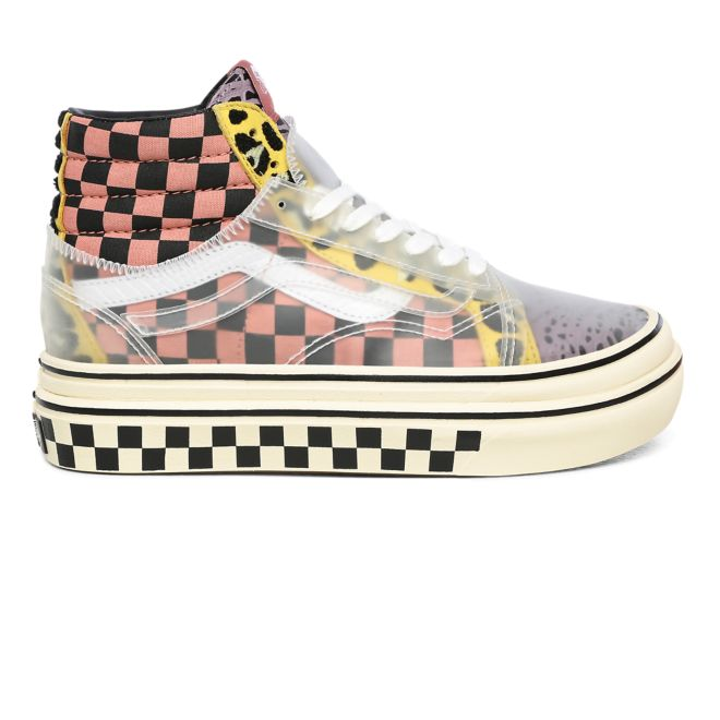 VANS Mixed Media Super Comfycush Sk8-hi Skool