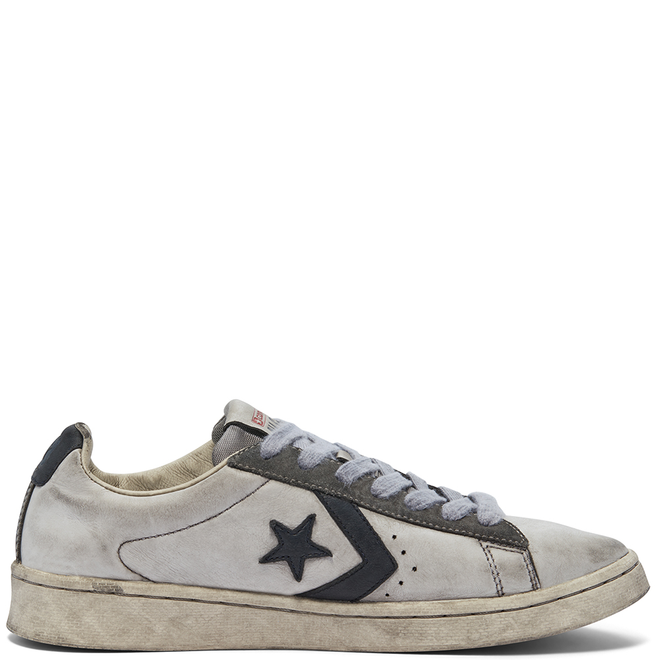 Unisex Smoke In Pro Leather Low Top 169120C