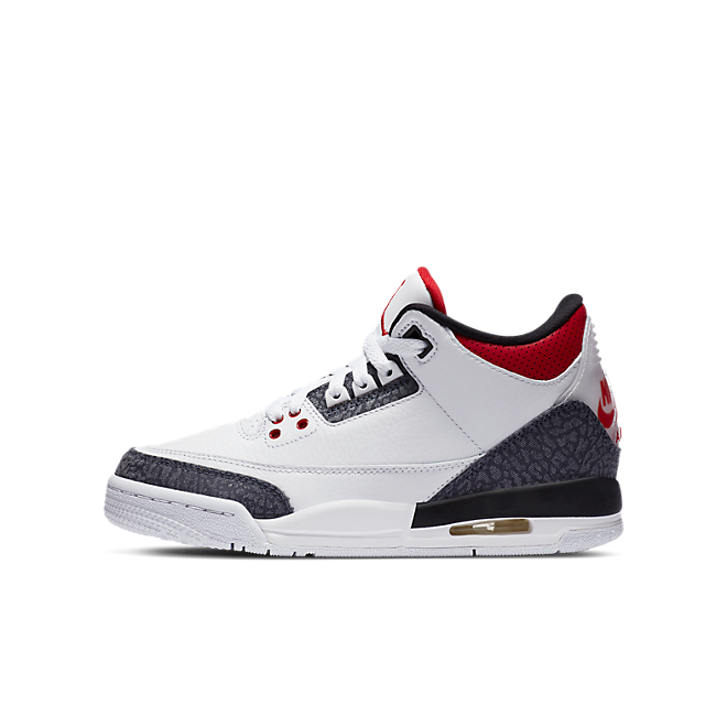 Jordan 3 Retro SE Fire Red Denim (GS)