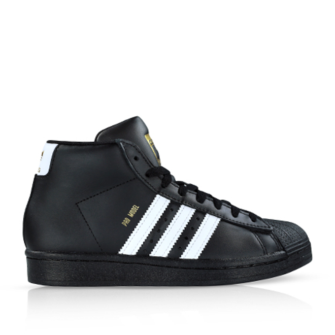 Adidas Pro Model Core Black/Cloud White GS