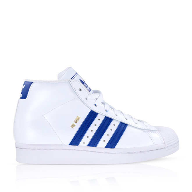 Adidas Pro Model Cloud White/Royal Blue GS