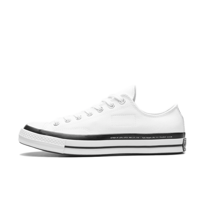 Sneaker releases week 36 Moncler X Fragment X Converse Chuck Taylor All-Star 'White'