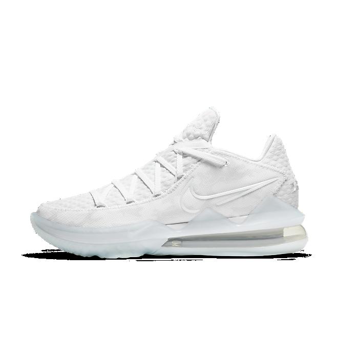 Nike LeBron 17 Low 'White Camo'