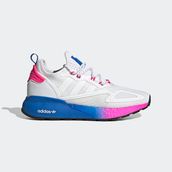 adidas ZX 2K Boost White Pink Blue (W)