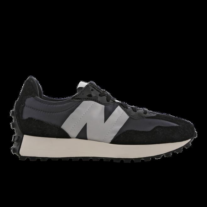 New Balance 327 Black Grey (W)
