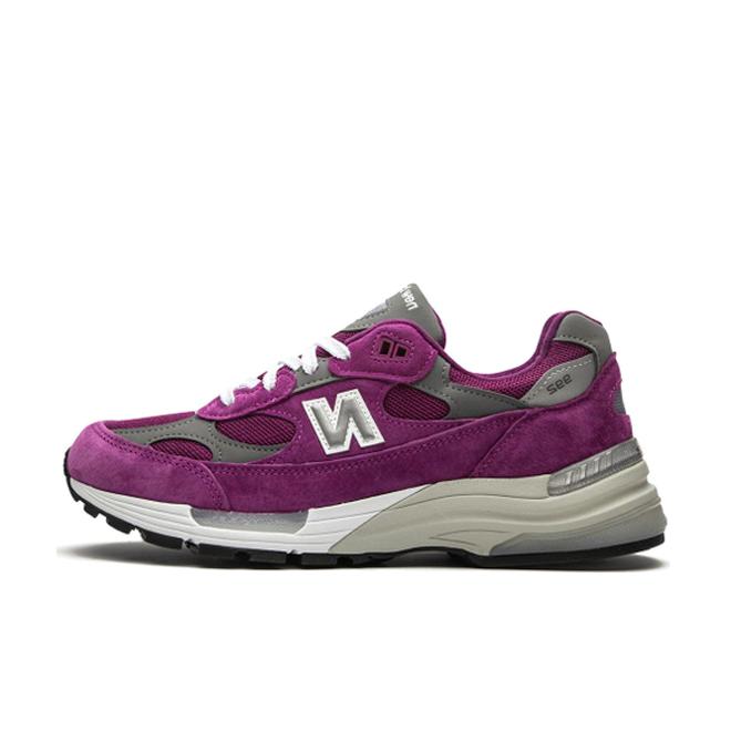 New Balance M992BA 'Purple' zijaanzicht