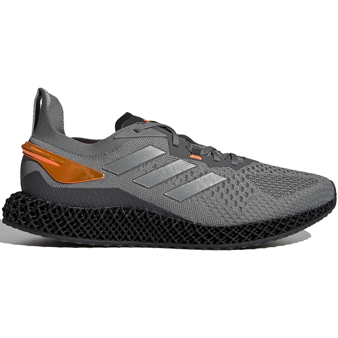 adidas X9000 4D Grey Three Signal Orange